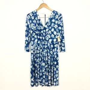 Coldwater Creek floral dress 8 NWT
